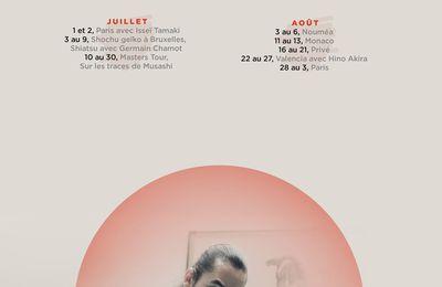 Mise à jour calendrier stages Aïkido Léo Tamaki 2017