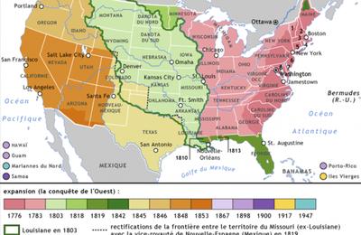 5 janvier 1846 - Annexion de l'Oregon par les États-Unis