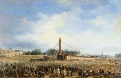 25 octobre 1836 - Érection de l'obélisque de la Concorde