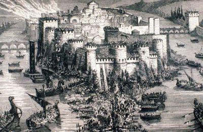 24 novembre 885 - Les Vikings entament le siège de Paris