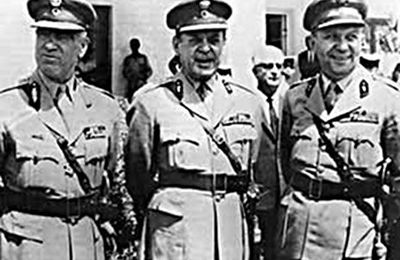 21 avril 1967 - Coup d'État des colonels grecs
