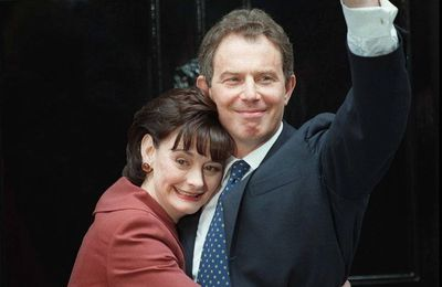 2 mai 1997 - Arrivée de Tony Blair au 10th Downing Street