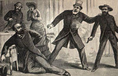 2 juillet 1881 - Attentat contre le président américain James Garfield