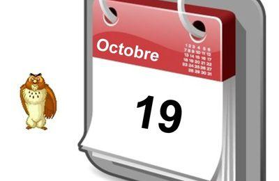 Personnalités nées un 19 Octobre