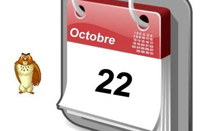 Personnalités nées un 22 Octobre