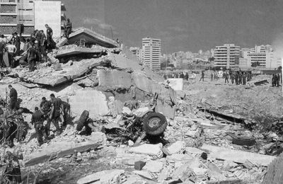 23 octobre 1983 - Double attentat à Beyrouth
