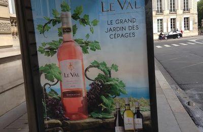 Ménagère de + de 50 ans cherche le Val IGP d'Oc désespérément dans Paris intra-muros évidemment !