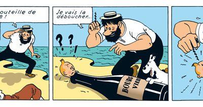 Tintin et le vin…