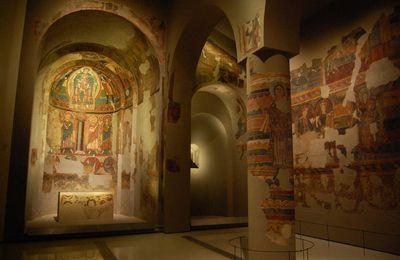 Santa-Maria del Taul - Fresques
