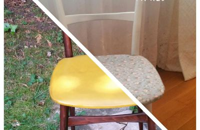 Customiser une chaise vintage