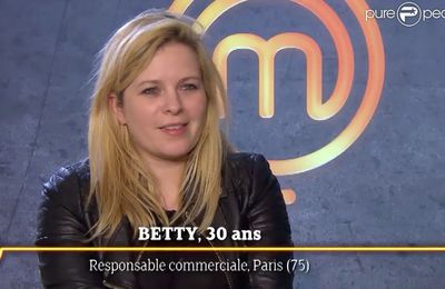 Interview de Betty THE candidate de Masterchef 2015