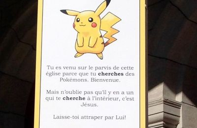 Pokemon à la Cathédrale