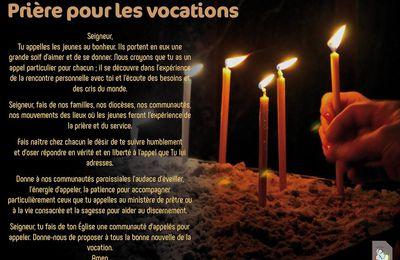Prière pour les vocations