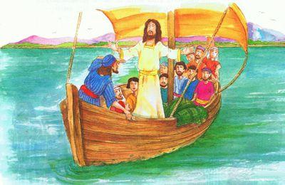 Jésus apaise la tempête