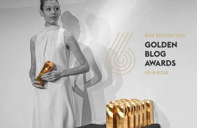 GOLDEN BLOG AWARDS 2015 PARIS / FINALIST
