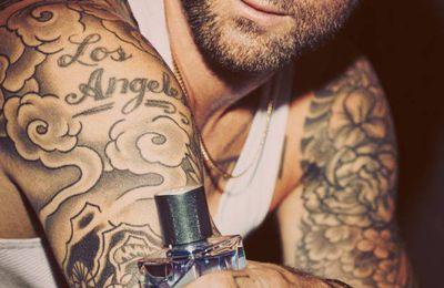 ADAM LEVINE IS THE NEW AMBASSADOR FOR YVES SAINT LAURENT  Y FRAGRANCE