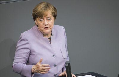 Déclaration d'Angela Merkel : Du Brexit et des suites pour l'Union Européenne.