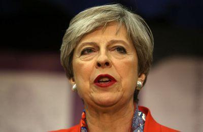 Theresa May première ministre du Royaume-Uni perd la majorité au Parlement
