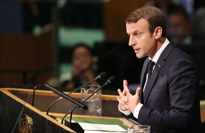 Emmanuel Macron: son intervention lors de l'AG des Nations Unies le 19 septembre 2017