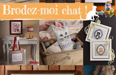 "Grand Jeu Concours "" Brodez moi Chat !"""