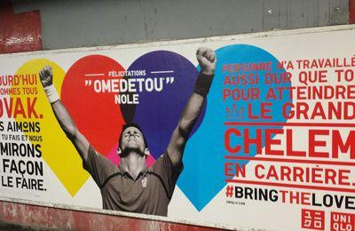 Quand Uniqlo valorise son partenariat avec Djokovic
