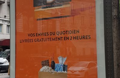 Quand Amazon s'affiche sur Paris