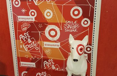 Il fallait y penser n°117 : Target met en scène son logo pour les selfies