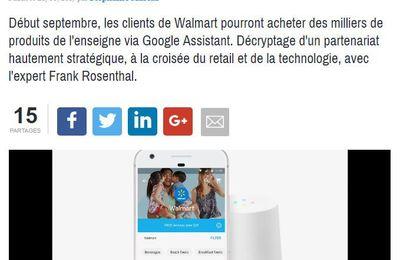 Walmart/Google suite...ma tribune dans Relation Client Magazine