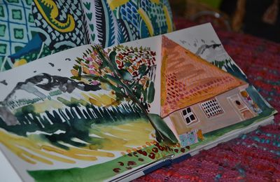 Carnets d'origami