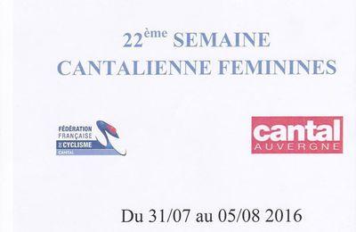 Semaine Cantalienne féminines