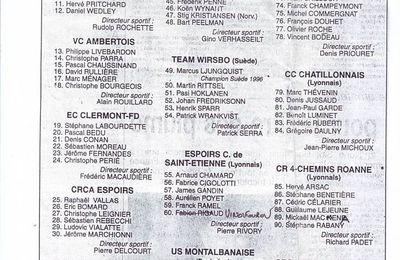Tour d'Auvergne 1997