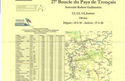 Samedi, 27ème Boucle du Pays de Tronçais