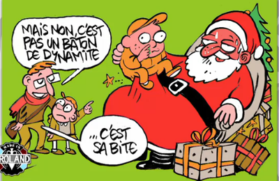 25 Décembre : l'important, c'est que le Père Noël soit heureux de sa tournée