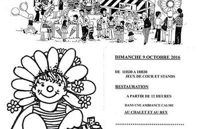 La kermesse de l'amitié de l'association Sainte-Marie aura lieu les 9 et 10 octobre prochains