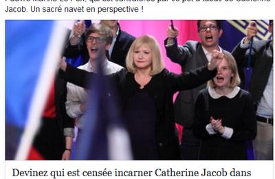 """Sortie du film """"Chez nous"""" : quand Steeve Briois fait honte à notre ville en insultant l'actice Catherine Jacob"""