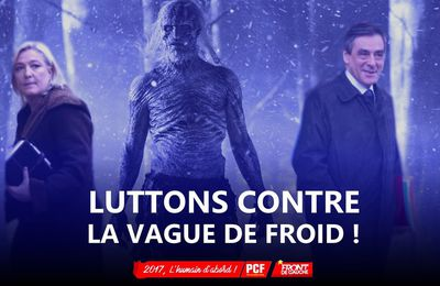 Luttons contre la vague de froid !