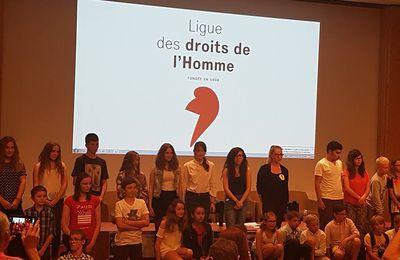 Les élèves du territoire d'Hénin-Carvin lauréats du concours de poésie de la LDH primés ce samedi à Paris