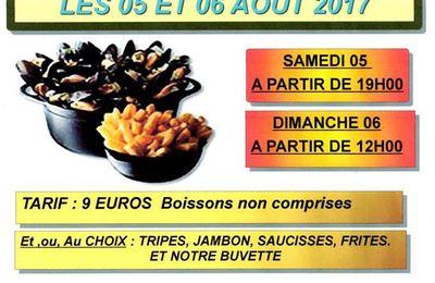 L'association Sainte-Marie organise son traditionnel repas moules-frites samedi et dimanche prochain