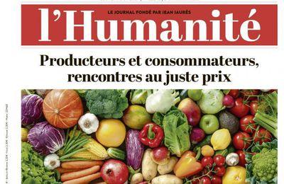 A la une de l'Humanité (17-08-17)