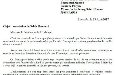 Arrestation de Salah Hamouri : Alain Bruneel écrit à Emmanuel Macron