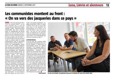 """Les communistes montent au front : """"On va vers des jacqueries dans ce pays"""""""