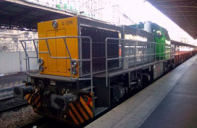G1206 en gare de l'EST