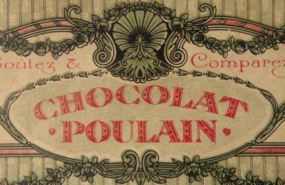 Une belle boîte de chocolat Poulain, Lacta Poulain, début du XX siècle