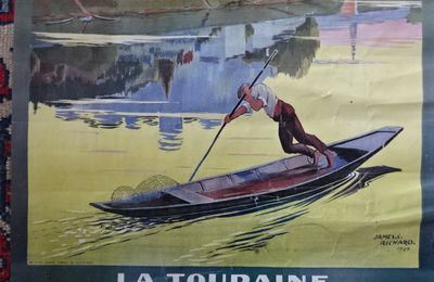 La ville en pub > Chinon & les transports > Une affiche de James C. Richards & + > 1926
