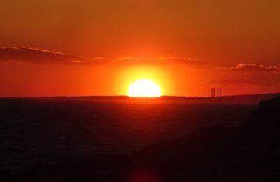 Photos x 3 > Coucher de soleil en Méditerranée > Parc des Calanques