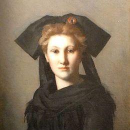 L'Alsace -Elle attend- La jeune Alsacienne vue par J.J. Henner - 1871
