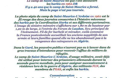 Gard rhodanien : l'histoire enfouie des harkis