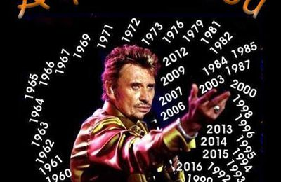"Johnny Hallyday "" happy birthday! """