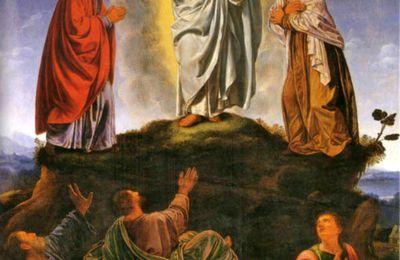 homélie - fête de la Transfiguration . dom Jean Pateau père abbé de Fontgombault .  profession simple.
