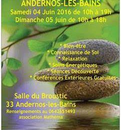 Salon Prends Soin de Toi: 4 et 5 juin à Andernos
